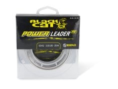Black Cat návazcová šňůra sumcová Power Leader 20 m Sand