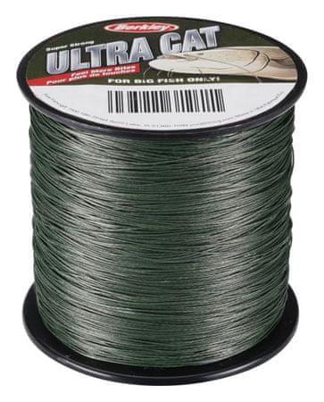 Berkley splétaná šňůra Ultra Cat 300 m Moss Green 0,50 mm, 75 kg