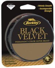Berkley Splétaná šňůra Black Velvet 110 m black
