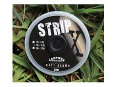 Carp ´R´ Us Potahovaná šňůrka Carp´R´Us - Strip-X 20 m Brown