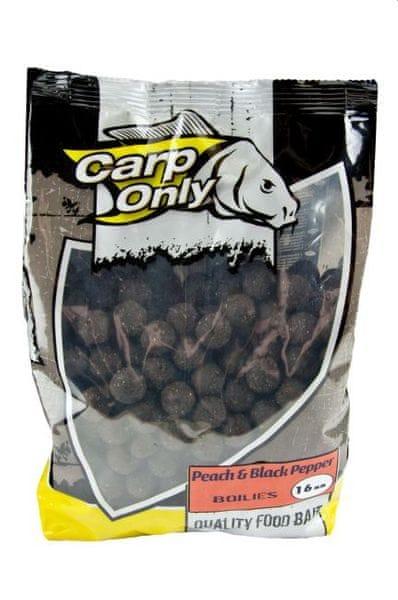 Carp Only boilies Peach & Black Pepper 1 kg 12 mm