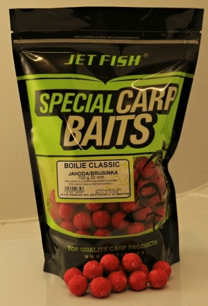 Jet Fish boilie Classic 5 kg 20 mm oliheň/mušle