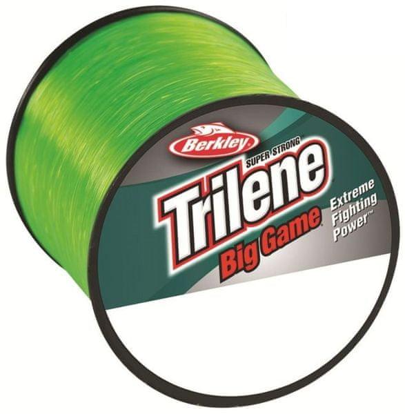 Berkley Vlasec Trilene Big Game Fluo zelená 1000 m 0,33 mm, 8,5 kg