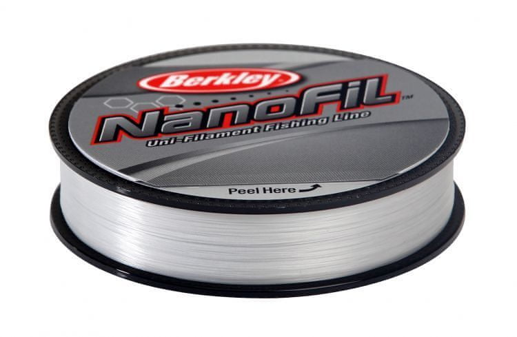 Berkley Vlasec Nanofil Clear 125 m 0,25 mm, 17,027 kg