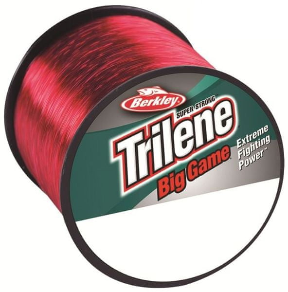 Berkley Vlasec Trilene Big Game Červená 1000 m 0,33 mm, 8,5 kg