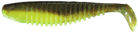 Berkley gumová nástraha flex slim breen chartreuse 12,5 cm