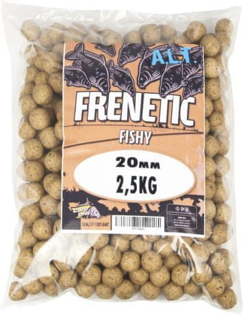 Carp Only Boilies Frenetic Fishy 5 kg, 20 mm