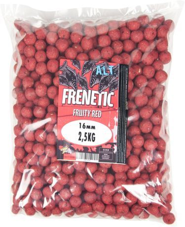 Carp Only Boilies Frenetic Fruity Red 5 kg, 16 mm