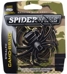 Spiderwire Splétaná šňůra Stealth 110 m camo