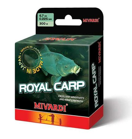 MIVARDI Vlasec Royal Carp Brown 5000 m 0,345 mm, 12,9 kg