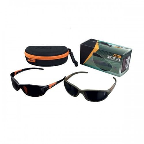 Fox Sluneční brýle XT4 zeleno/hnědý rám s šedými skly