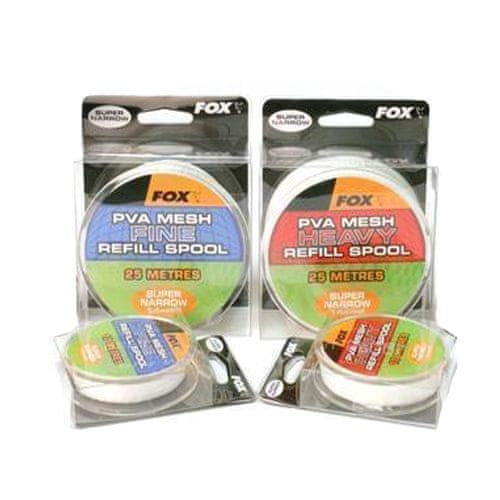 Fox Náhradní PVA síťka Super Narrow Refill Spool Heavy Mesh 10 m 14 mm