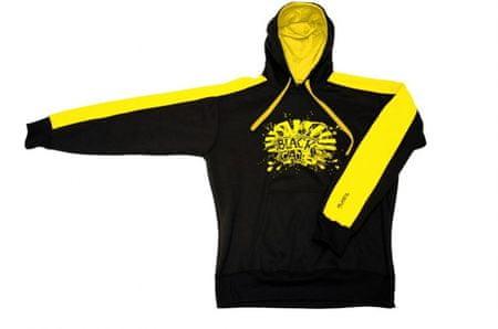 Black Cat Mikina Hooded Sweatshirt XXXL