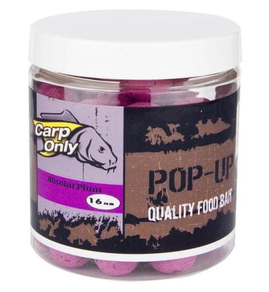 Carp Only plovoucí boilies pop up 100 g 12 mm Bloodworm-Liver