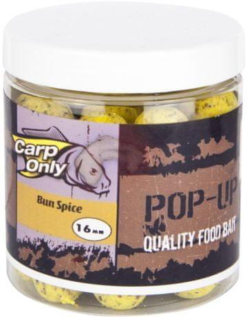 Carp Only plovoucí boilies pop up 100 g 16 mm halibut-crab,