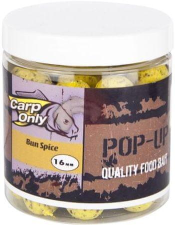 Carp Only plovoucí boilies pop up 100 g 16 mm garlic cake
