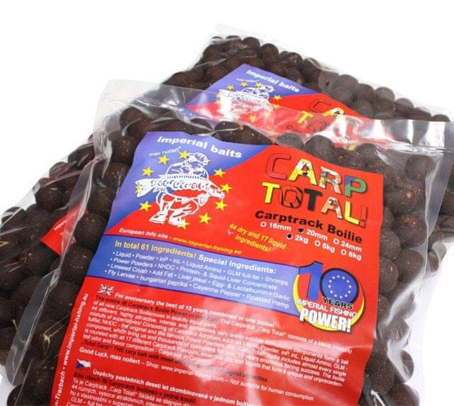 "Imperial Baits boilies Carptrack ""Carp Total!"" 5 kg, 20 mm"