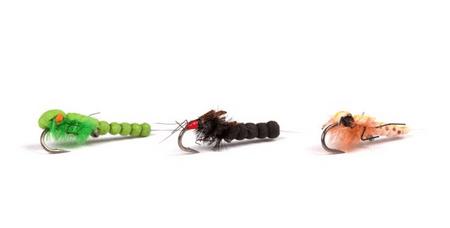 Nash Brouk Zig bugs Naturals Barbless 3 ks