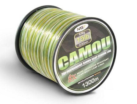 Ngt Vlasec Camou Line 0,30 mm, 6,8 kg
