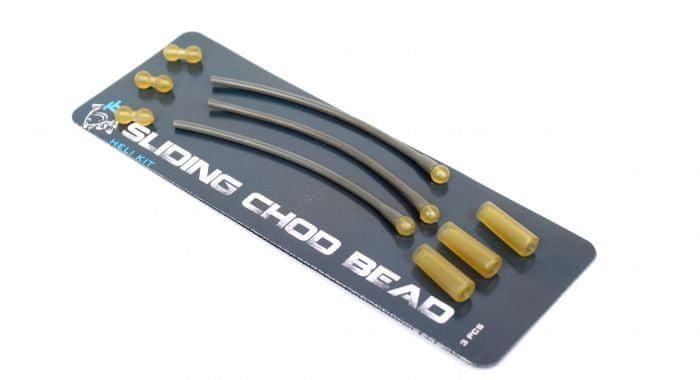 Nash Set na výrobu montáže Sliding Chod Bead Heli Kit