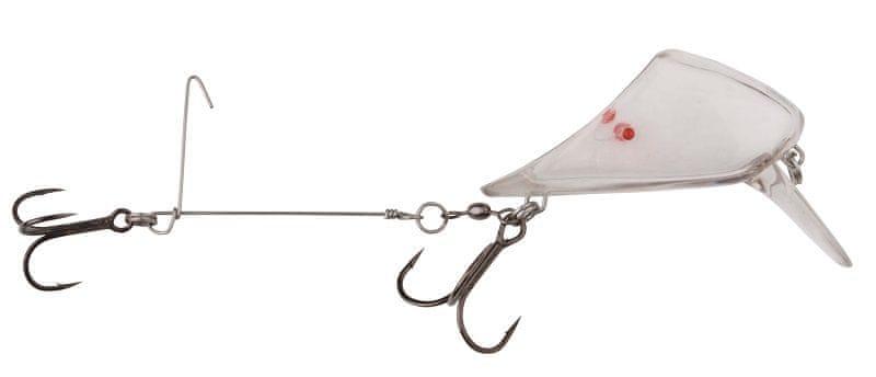 Savage Gear Nořítko 4Play Lip Scull M Treble Baitfish UV Clear