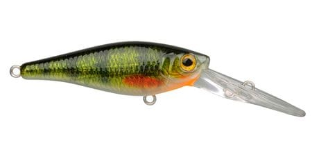 Spro Wobler Ikiru Shad Green Perch 6 cm 7 g
