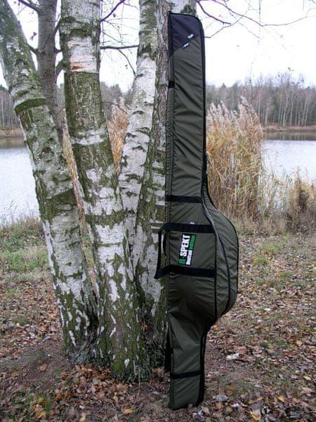 R-SPEKT Triple polstrované khaki pouzdro na 3 pruty 150 cm