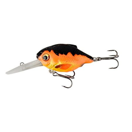Savage Gear Wobler 3D Crucian Crank SF SR 4,6 cm 7 g Black Orange