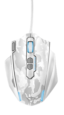 Trust GXT 155W Gaming Mouse - white camouflage