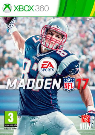 EA Games Madden NFL 17, Xbox 360