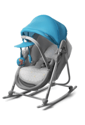 KinderKraft Leżaczek-łóżeczko Unimo, Blue