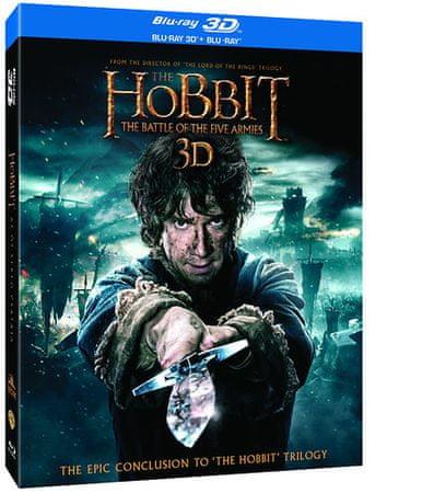 A hobbit: Az öt sereg csatája BD