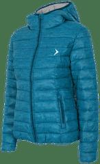Outhorn kurtka puchowa KUD602 morski melanż