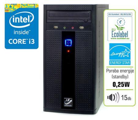 mimovrste=) namizni računalnik FUN 500 i3/4GB/500GB
