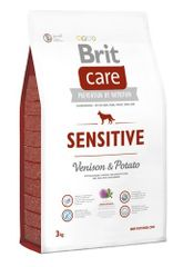 Brit hrana za pse Care Sensitive, divjačina in krompir, 3 kg