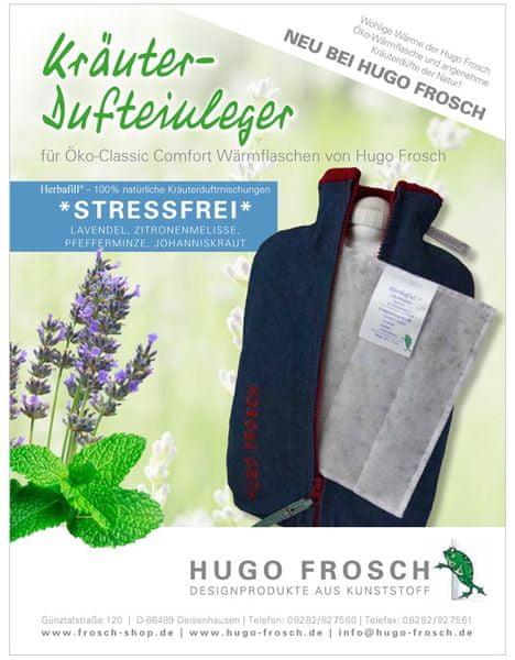 Hugo Frosch Bylinný vonný sáček do termoforu - proti stresu