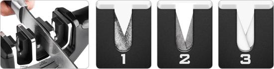 Lamart Edge brusilnik nožev 3x1 LT2058