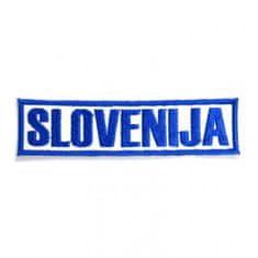Slovenija našitek - napis (09785)