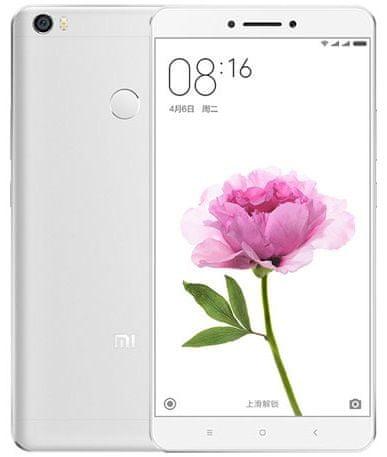 Xiaomi Mi Max, 3GB / 64GB, stříbrná