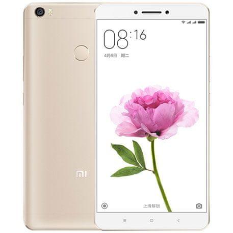 Xiaomi Mi Max, 3GB / 32GB, zlatý