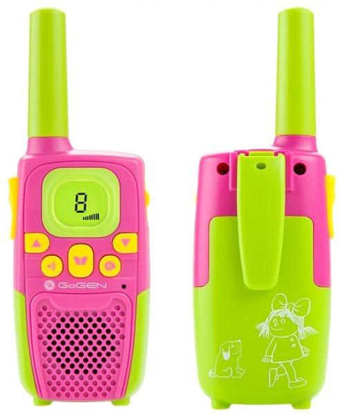 GoGEN Vysílačky MAXI P, růžovo-zelená