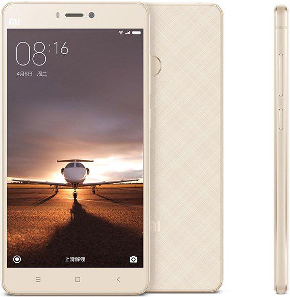 Xiaomi Mi 4S, 3GB / 64GB, zlatý