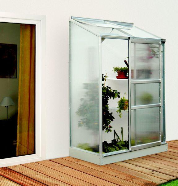 VITAVIA skleník VITAVIA IDA 900 PC 6 mm stříbrný