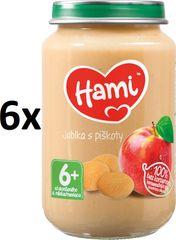 Hami Jablka s piškoty - 6 x 190g