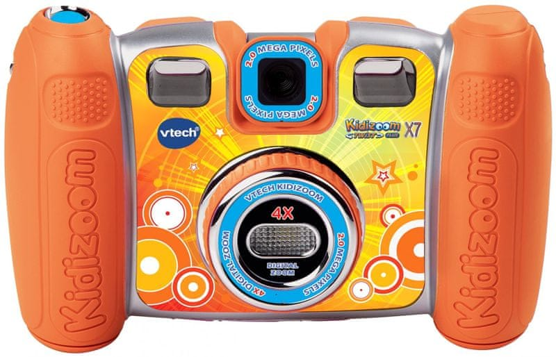 Vtech Kidizoom Twist Plus X7 - Oranžový