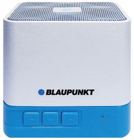Blaupunkt prenosni Bluetooth zvočnik BT02, moder
