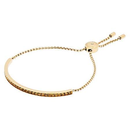 Michael Kors Jemný zlatý náramek se zlatými krystaly MKJ5796710