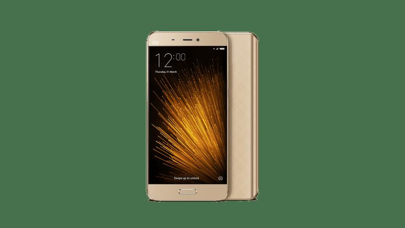 Xiaomi Mi5, 3GB/32GB, Zlatý