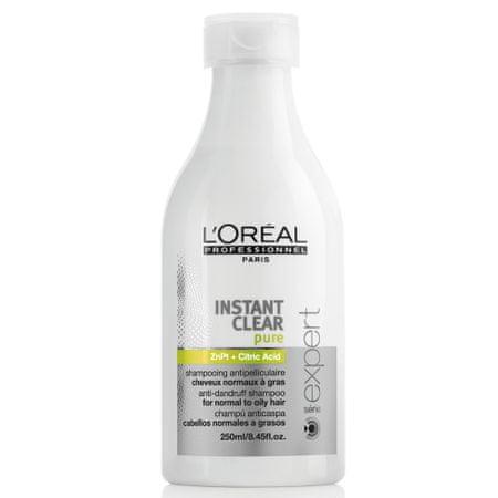 L'Oréal szampon Expert Instant Clear Pure do włosów tłustych i normalnych - 250 ml