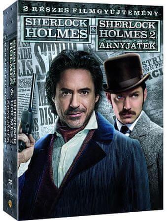 Sherlock Holmes 1-2 diszdoboz 1 lemez